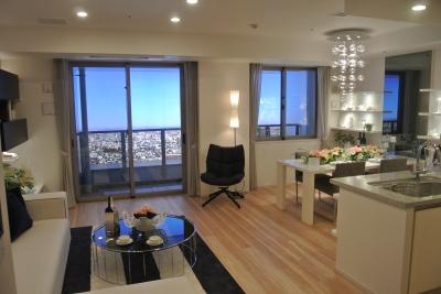 「ザ・パークハウス西新宿タワー60」のモデルルーム