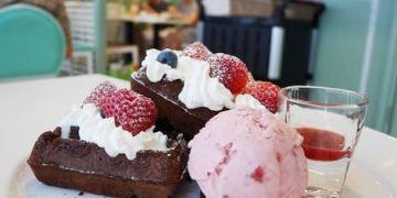 【新竹美食】東區 莫凡彼咖啡館 ● 用料新鮮實在 ● 餐後絕對要來球冰淇淋!❤❤
