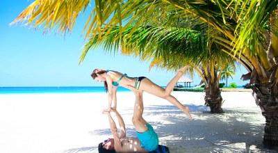 【2015蜜月】Velassaru薇娜沙露♡每天都想泡在仙境般的泳池跟沙灘