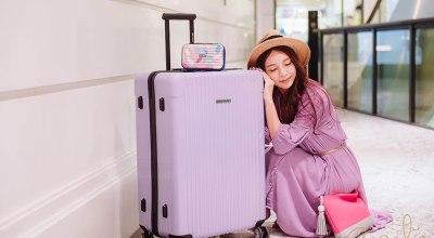 【團購】centurion行李箱薰衣草紫❤安啾限定色29