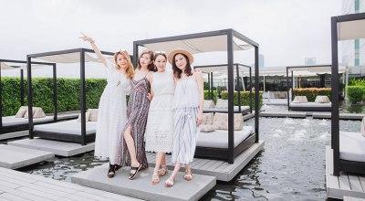 【曼谷】Centara Watergate Pavillion Hotel浮在水上的發呆亭&頂樓高空吧.近水門市場