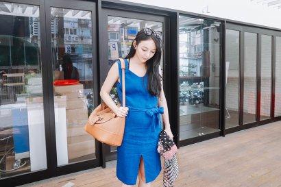 【穿搭】夏/孕媽咪的時尚穿搭週記❤21W~22W
