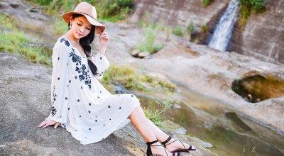 【穿搭】擁抱Free People波希米亞洋裝的初秋❤當個美美孕婦