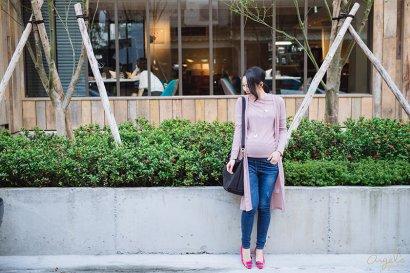 【穿搭】秋/孕媽咪的時尚穿搭週記❤24W~25W