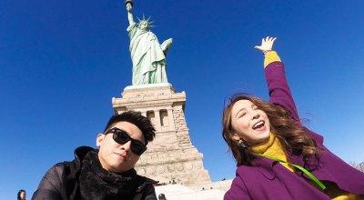【紐約】下曼哈頓~自由女神+華爾街銅牛+Luke's Lobster龍蝦堡