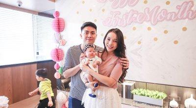 【記錄】Riley寶寶滿月Party~好夢幻的粉紅色回憶