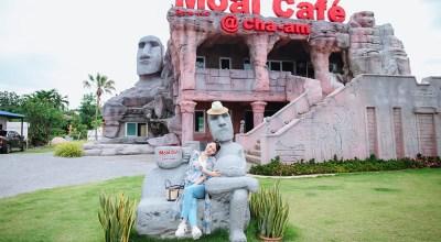 【華欣】Moai Cafe摩艾咖啡拉風的打卡點&走訪神秘拷龍穴、拷汪宮