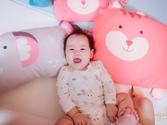 【育兒】超可愛又舒服的Milo & Gabby動物好朋友~防蟎天絲枕,超細纖維防蟎大枕,防扁頭嬰兒枕