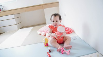【育兒】寶貝成長必需品,超美又有質感的Parklon帕龍地墊+實用廚房墊