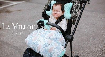 【育兒】讓人愛不釋手,嬰兒界時尚精品波蘭La Millou豆豆毯,夏季涼感巾