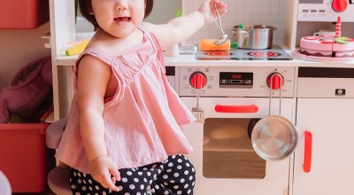 【育兒】德國Hape木質玩具~媽媽寶寶一起瘋玩的小廚房跟積木們,現貨開團ING