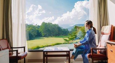 【日本】輕井澤王子The Prince Karuizawa景觀無敵好的西式客房!夢幻美景早餐不能錯過!