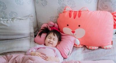 【育兒】超可愛又舒服的Milo & Gabby動物好朋友~防蟎MINI枕,超細纖維防蟎大枕,防扁頭嬰兒枕