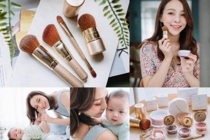 【母嬰】超安心!日本銷售第一Only Minerals,接觸寶寶無罪惡感的超美礦物彩妝♥我最愛的刷具們開團囉!