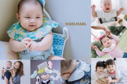 【育兒】日本MARLMARL360度旋轉圍兜!時尚流行與實用兼具的寶寶配件!送禮超適合!