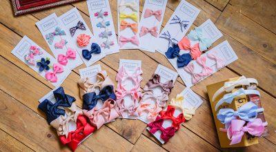 【育兒】美慘了的英國Ribbies蝴蝶結髮飾&超Q的美國Sweetooth冰淇淋固齒器