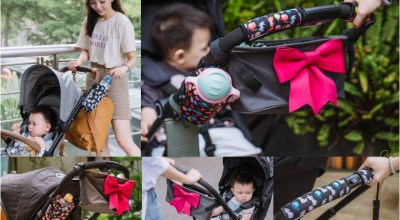 【團購中】來自紐約的Choopie時尚推車配件(置物袋,手把套,置杯袋)一秒讓你的推車方便更加倍!