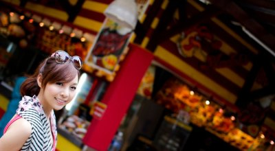 ☀自助長灘島Boracay☀島上美食【Andok's】便宜連鎖烤雞店+【冰淇淋店】