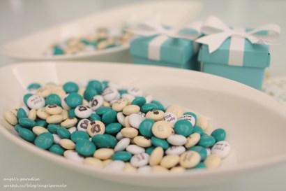 ▌Wedding ▌Bridal things‧客製化MM喜糖跟紙盒準備與成果♥♥