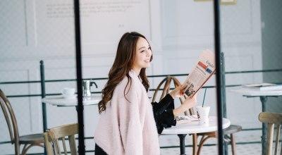 【穿搭】Dawn Light韓國服飾的秋日女人味♡找到秋天最美的單寧褲