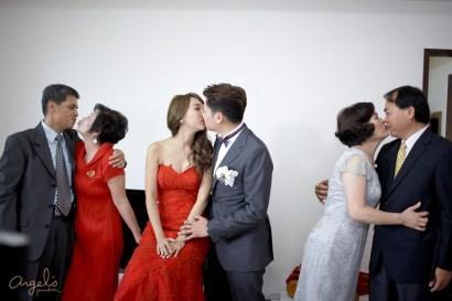 ▌訂結儀式 ▌我們結婚了♥全家囍滋滋的訂婚記錄!