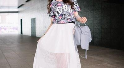 ▌穿搭 ▌Chochobee's Closet 今年春天一定要跟上的圓裙穿搭♥下♥
