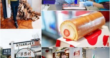 【台北美食】台北陽明山亞尼克夢想村。十勝生乳捲新口味~現點現捲的新鮮美味!