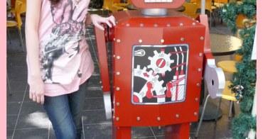 【妮。愛吃】驚!竟有鋼彈機器人出沒。鐵皮駅機器人餐廳
