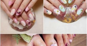 【美甲】潔月兒藝術美甲❤ 讓指甲美一夏!清爽Tiffany藍和夢幻Pink美甲三款分享