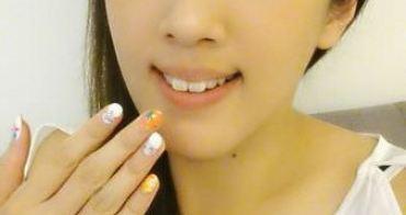 【指彩】潔月兒藝術美甲❤ 抓住夏天的尾巴!熱帶風情花卉光療款