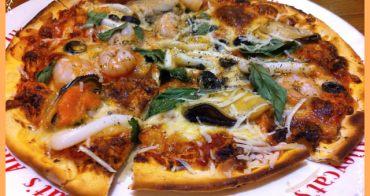 【妮。愛吃】薄脆餅皮Pizza我的愛。Alleycat's Pizza