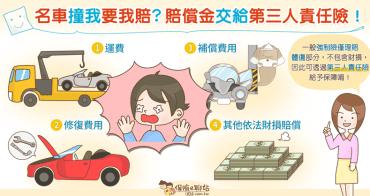 【好險!】投保強制險還不夠~撞到名車賠償金要靠第三人責任險!