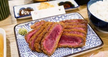 【台北美食】乍牛炸牛排專賣。免飛日本就能品嚐美味炸牛排!王品集團排隊美食新品牌