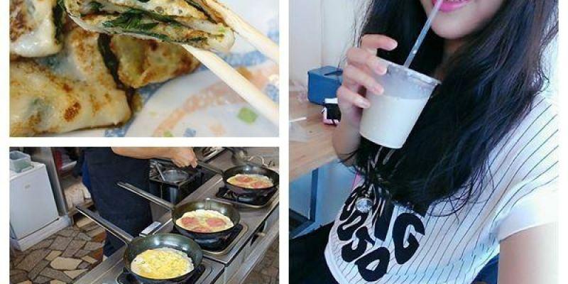 【彰化員林】黃記古早味蛋餅;現點現做的古早味好吃QQ蛋餅,看的到老闆帥氣翻鍋!(員林早餐/員林古早味蛋餅/員林蛋餅)