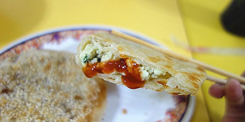 員林無名烤蛋餅(和平早點);不早點起床還吃不到的傳說中烤蛋餅!皮酥脆、蛋柔嫩,員林凌晨販售秘密美食就在這裡~