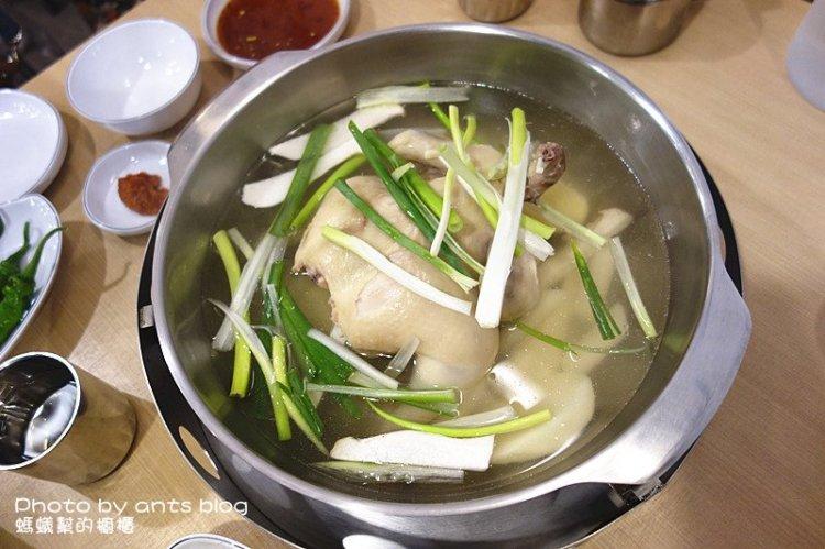 孔陵一隻雞彰化店;超狂全雞燉雞湯,韓國美食風潮席捲!
