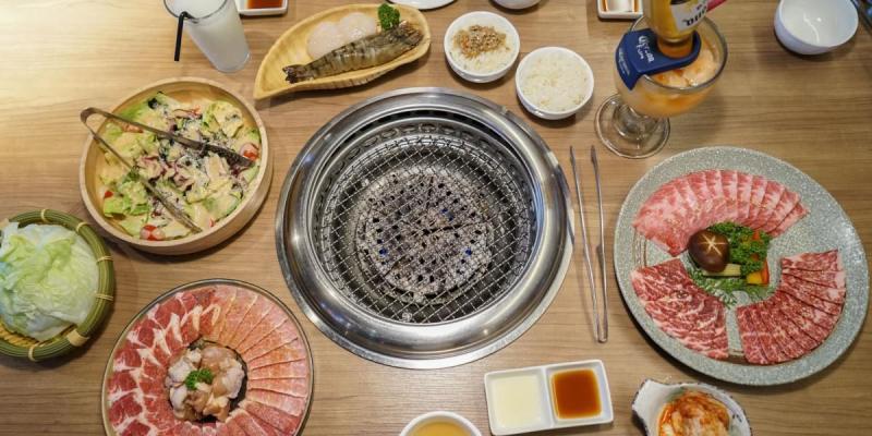 台中雲火日式燒肉 台中時尚燒肉新星,肉品海鮮品質好,Prime極上美牛套餐,台中精緻燒肉推薦。