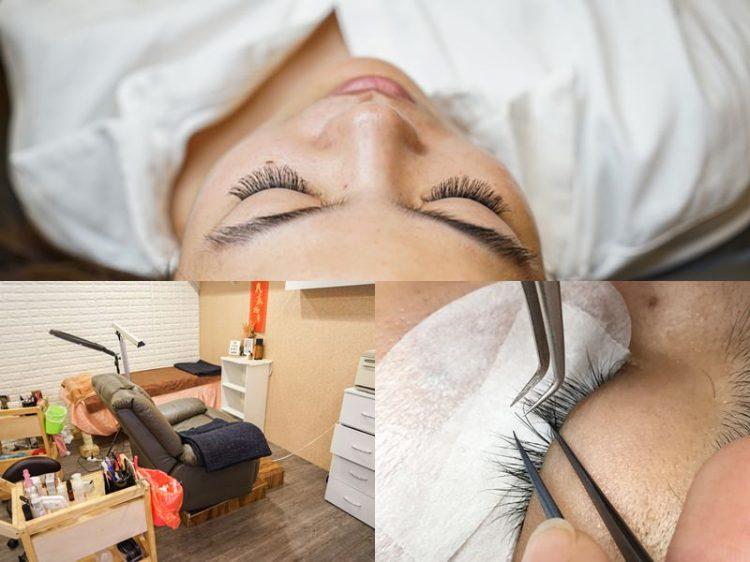 Ambrosia安柏希亞光明店|員林美睫推薦!獨家黑蕾絲睫毛,接睫舒適無負擔。