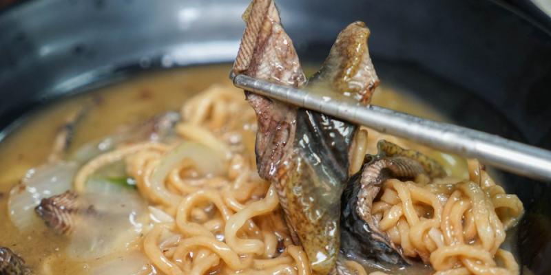 彰化市水煮意麵食鍋燒專賣店|招牌熱炒鱔魚意麵,每天售完為止!自家熬煮昆布湯頭,鍋燒料多豐富。