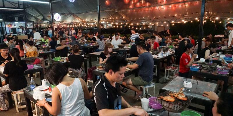 曼谷泰國蝦吃到飽推薦|Mangkorn Seafood吃到飽499元,到曼谷旅遊不吃個海鮮吃到飽好像跟不上潮流...