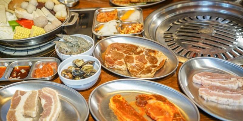 阿豬媽아줌마韓式烤肉x火鍋吃到飽   台中韓式烤肉吃到飽推薦,韓國籍老闆親自醃製調味醃醬烤肉,飽足又美味!