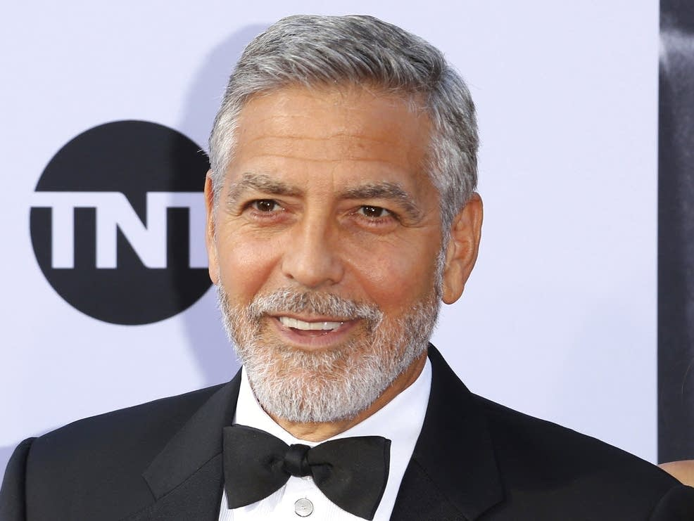 George Clooney  fine  after motorbike crash in Italy   MPR News George Clooney