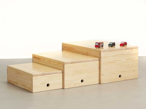 Medium Of Wooden Toy Box