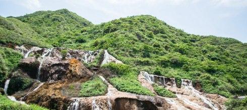 |新北景點|金瓜石黃金瀑布,曾經的黃金山城