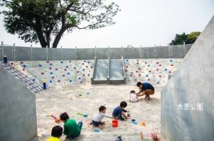|特色公園|台南首座特色公園,融入航空意象,打造出以「飛機進化史」為主題的特色遊戲場