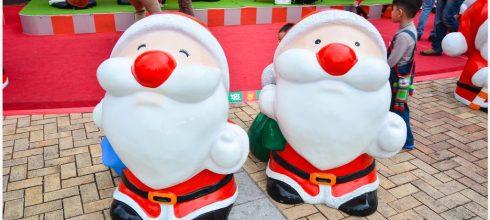 Kaohsiung|高雄‧左營|來漢神巨蛋迎聖誕,超多可愛的聖誕老公公