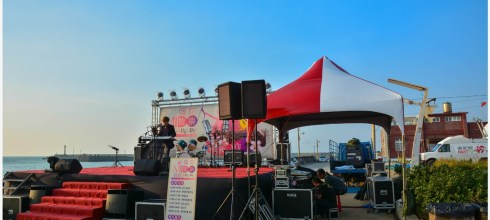 Kaohsiung|高雄‧彌陀|2014年MIDO響樂音樂會,來南寮海岸聽音樂喝咖啡吃魚丸看夕陽