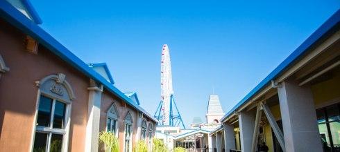  台中‧后里 麗寶Outlet*全台最大摩天輪、中台灣最大的Outlet Mall,旁邊還有遊樂場
