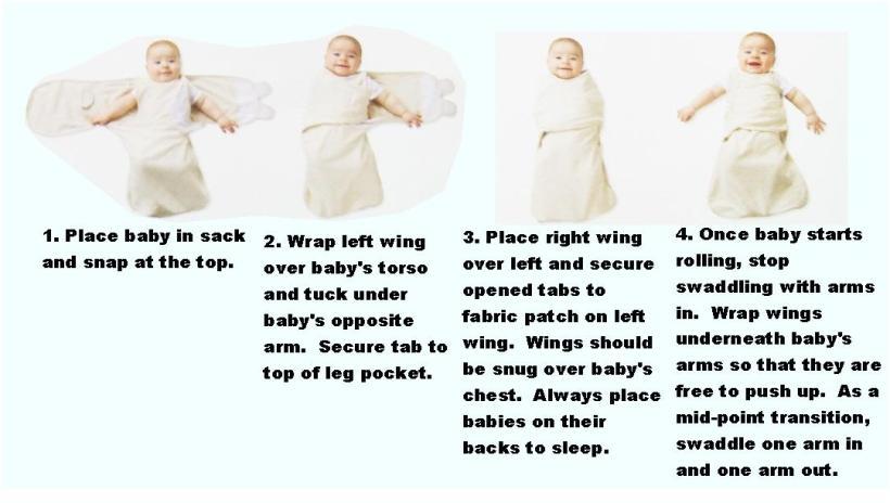 Summer Swaddle Instructions Yoktravels