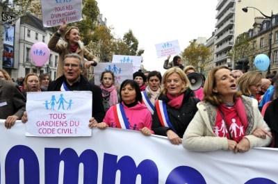Les trois parcours de la manifestation contre le « mariage pour tous » - La Croix